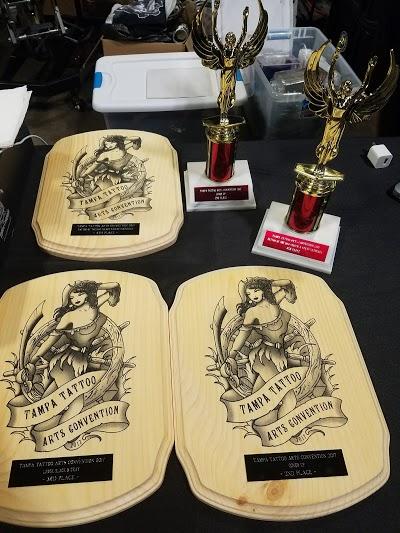 Award winning tattoo studio located in Riverview Florida